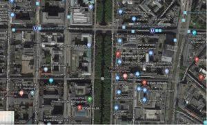 karte der park moeglichkeiten in der koenigsallee